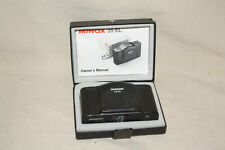 MINOX 35 EL 35mm CAMERA IN BOX WITH INSTRUCTIONS 8005