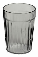 72 x Plastic Tumblers 230ml Clear Cups SAN Reusable Glasses Tumbler Water Cold
