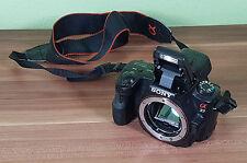 """Sony Alpha SLT-A37 16.1MP Digitalkamera - Schwarz """"Kamerafehler"""" (I6)"""