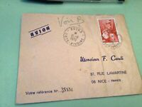 Ivory Coast   to France Airmail stamps Cover Ref 51441