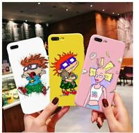 Cartoon Rugrats Amazing amine lovely Rescue Me Candy Case For iPhone X 11 6s 7 8