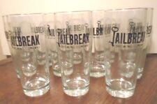 NEW SET 12 JAILBREAK BREWING COMPANY LAUREL, MARYLAND 16 OZ CRAFT BEER GLASSES