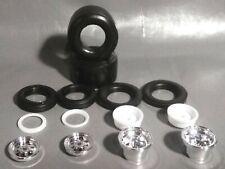 🌟Huge Slicks & Racing Wheels Pro Stock Camaro 1:24 100s Model Car Parts 4 Sale