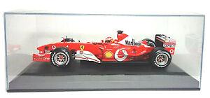 Ferrari F2003-GA M.Schumacher Formel1 Tabak Werbung in brandnew Showcase 1:18