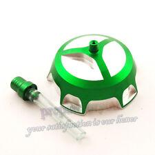 Green Gas Fuel Tank Cap Cover For KX65 KX85 KX100 KX110 KX250 Pit Dirt Bike