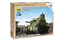 ZVEZDA 6264 1/100 M3 Lee US Medium Tank