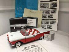 Franklin Mint 1957 Ford Fairlane 500 Skyliner Die Cast Model