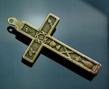 Little PECTORAL CROSS 1800 RELIQUARY for Relics Arma Christi Passion
