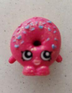 Shopkins Season 1 D'lish Donut #1-035 - Pink ULTRA RARE Glitter From Bakery New
