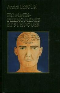 Livre hommes-phénomènes et surdoués éditions Famot 1980 book