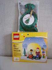 Lego 850939 Juego de Santa Claus + 5003083 Adorno navidad - nuevo y emb. orig.