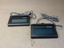 Lot Of 2 T-Lbk462-Hsb-R Topaz SignatureGem Lcd Signature Capture Pad For Parts