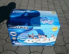 Bestway 43105 Badeinsel Tropical Breeze Lounge Party Pool 389 x 274 cm Neu & OVP