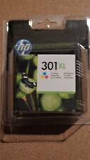 Cartouche HP 301XL  Original Neuve !  Tri-colour DATE LIMIT JUN 2022