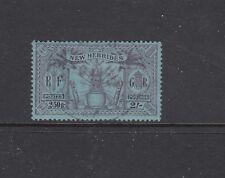 NEW HEBRIDES, BRTISH CURRENCY: 1925 Wmk MSCA definitive 2/- SG 50 £22, fine used