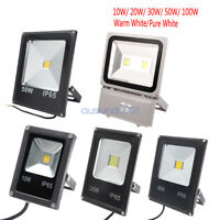10W 20W 30W 50W 100W AC 85-265V LED Flood Light Outdoor Lamp Waterproof IP65