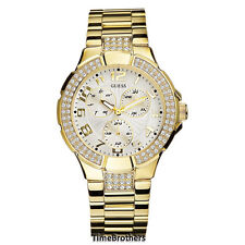 NEW GUESS WATCH for Women * Gold Prism * Swarovski Crystal * G13537L