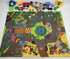 Fisher Price Little People Main Street Discovery Play Mat + cars +  People FRSH
