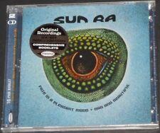 SUN RA fate in a pleasant mood + bad & beautiful UK CD new PLUS TWO BONUS ALBUMS