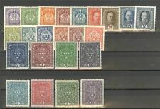 Austria: Sc.145-167 MNH,  1916-17 definitives