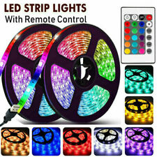 3M USB Led Strip Light With Remote Colour Changing Mood Lights RGB TV Backlight