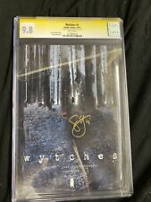 wytches 1 cgc 9.8 ss signed by scott snyder