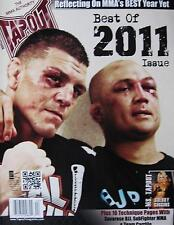 2012 TAPOUT MAGAZINE ROYCE GRACIE JACK SHIELDS MIXED MARTIAL ARTS KARATE KUNG FU