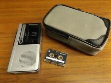 Vintage Panasonic 2 Speed Micro Cassette Recorder RN-107A - Tested