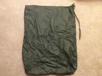 US Military Waterproof Dry Clothing Laundry Bag OD ALICE Field Pack Liner Used