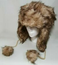 Faux Fur Brown Hats for Women