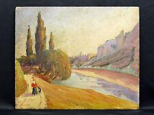Jean AMBLARD(1911-1989)HSP post impressionnisme Clermont Ferrand Auvergne