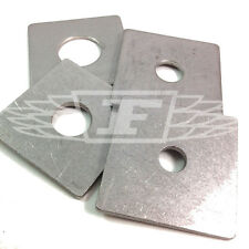PACK OF 6, M20 50 x 50 x 3mm A2 STAINLESS STEEL SQUARE PLATE WASHER