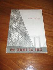 BROCHURE 1958,TEATRO,UNO SGUARDO DAL PONTE,MILLER,LUCHINO VISCONTI,P.STOPPA,
