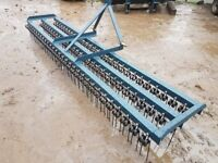 SPRING TINE HARROW 3 BAR CHAIN HARROW GRASS HARROW EQUESTRIAN FARM