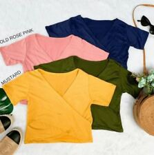 Gia Crop Top F3 (Mustard)