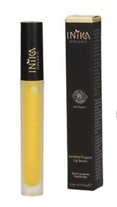 🌼 INIKA 🌼 Certified Organic Lip Serum 🌼 5ml 🌼New & Sealed 🌼 Free Post 🌼