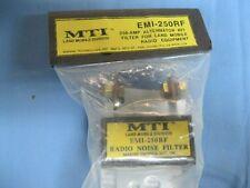 MTI EMI-250RF 250 Amp RFI Filter for Land/Mobile Equipment