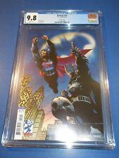 Batman #45 Jim Lee Superman Variant CGC 9.8 NM/M Gorgeous Gem Wow