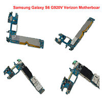 For Samsung Galaxy S6 G920V Phones Main Motherboard GSM Unlocked Logic Board