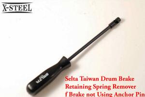 Selta Taiwan Drum Brake Retaining Spring Remover for Brake not Using Anchor Pin