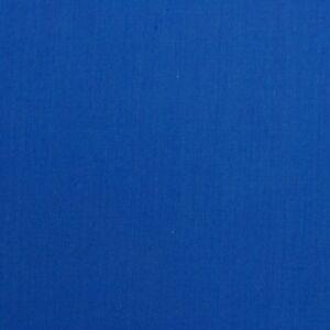 PLAIN ROYAL BLUE FABRIC REMNANT 50 cms x 112cms  POLY COTTON PATCHWORK SOLID