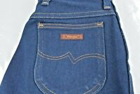 Wrangler Misses Regular Fit Western Rodeo Denim Cowgirl Jeans Size 12 (26x31)