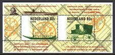 Netherlands - 2000 Amphilex / Ship / Coach - Mi. Bl. 66 MNH