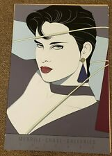 PATRICK NAGEL 1987 MIRAGE EDITION ART PRINT LITHOGRAPH MERRIL CHASE GALLERIES