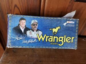 ACTION  #3 DALE EARNHARDT WRANGLER 1/24 BOX IS GOOD SLEEVE IS NOT