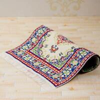 1:12 Scale Turkish Rug Woven Dollhouse Miniature Flooring 10*15cm Supply Ca T7V9
