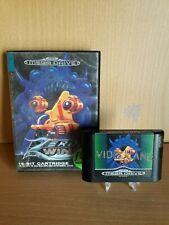 Zero Wing - Game & Case PAL - Sega Mega Drive - EX Rental
