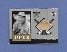 TRIS SPEAKER - BOSTON RED SOX - 2000 UD (TS-B) - GAME USED BAT - AWESOME!