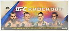 2020 TOPPS UFC KNOCKOUT HOBBY BOX