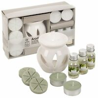 Oil & Wax Tart Melt Tealight Ceramic Burner Fragrance Aromatherapy Diffuser Gift
